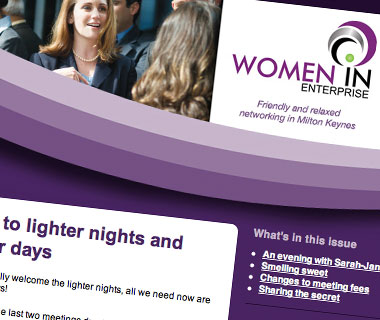 sign up to the WiE monthly newsletter