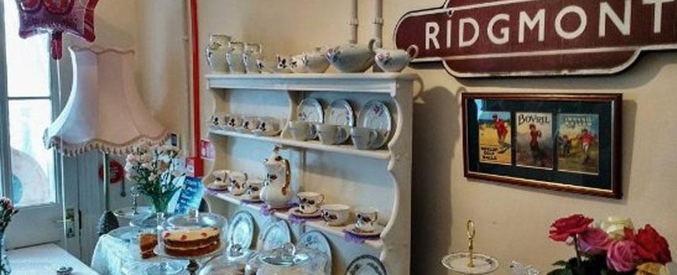 Ridgmont Station Tea Room Menu